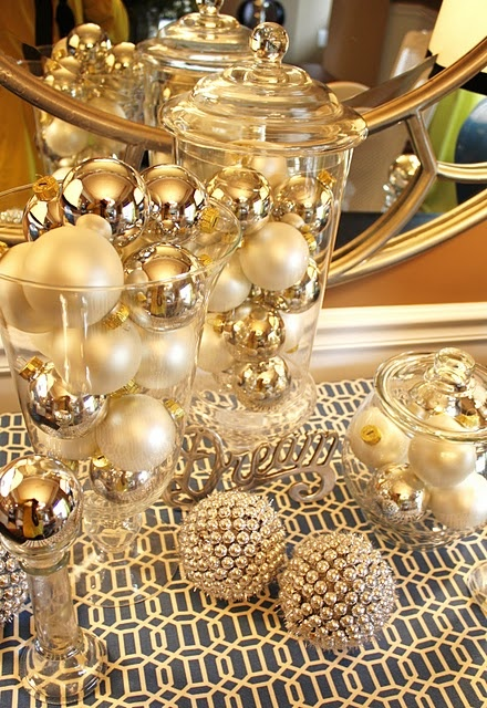 Gold Christmas Decoration Ideas (1)