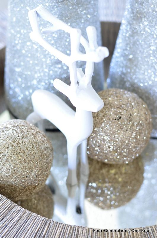 Gold Christmas Decoration Ideas (22)