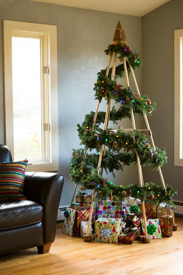 Modern Christmas Tree Idea