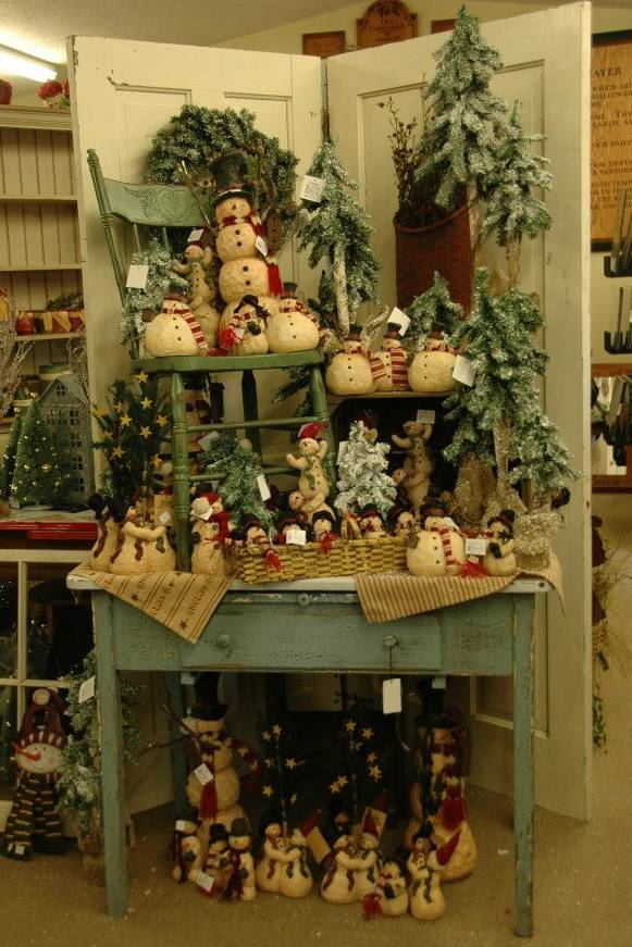 Rustic Country Christmas Crafts. Rustic-Country Christmas Decorating Ideas thewowdecor