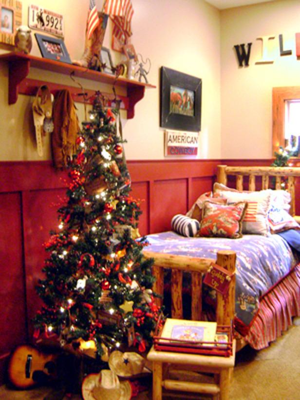 Bedroom Idea Christmas Tree