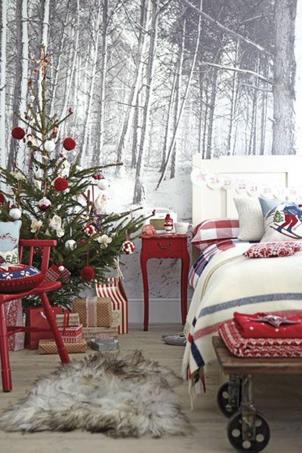 Christmas Bedroom Decor Idea