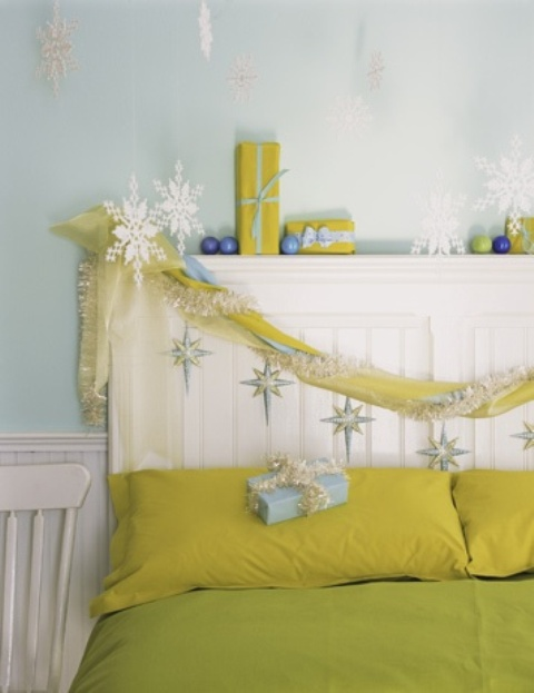Christmas Bedroom Decoratings Ideas