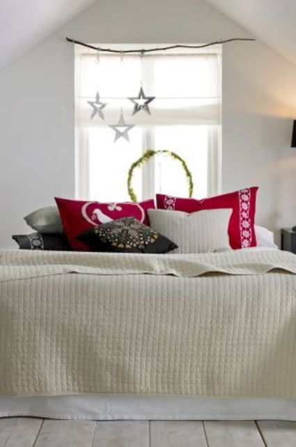 Christmas Bedroom Decors Ideas