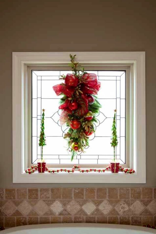 Christmas Window Decor Pinterest