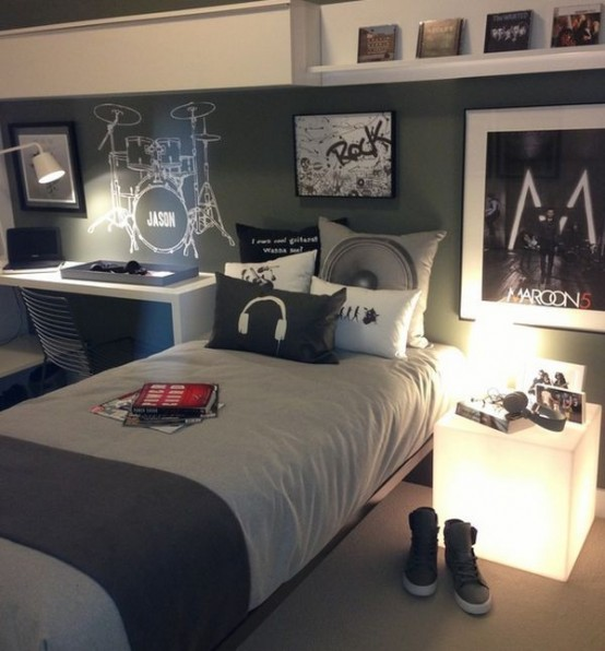 Teen Boys Room Design Ideas (26)