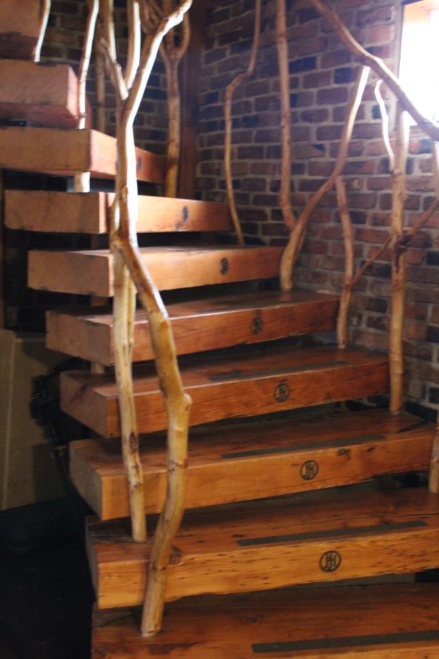 Wooden Spiral Staircase (28)