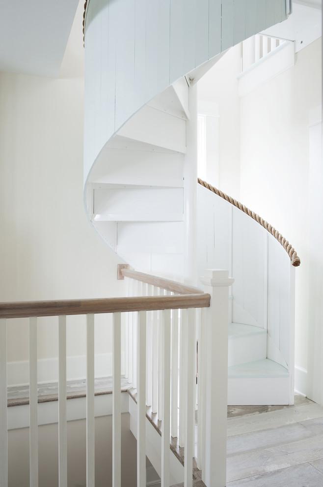 Wooden Spiral Staircase (8)