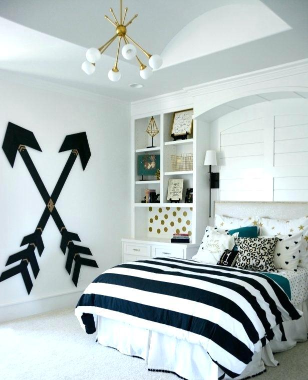 Black White And Gold Bedroom
