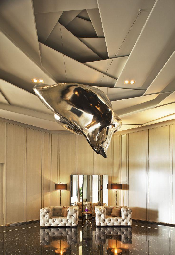 Luxurious Unique False Ceiling Thewowdecor