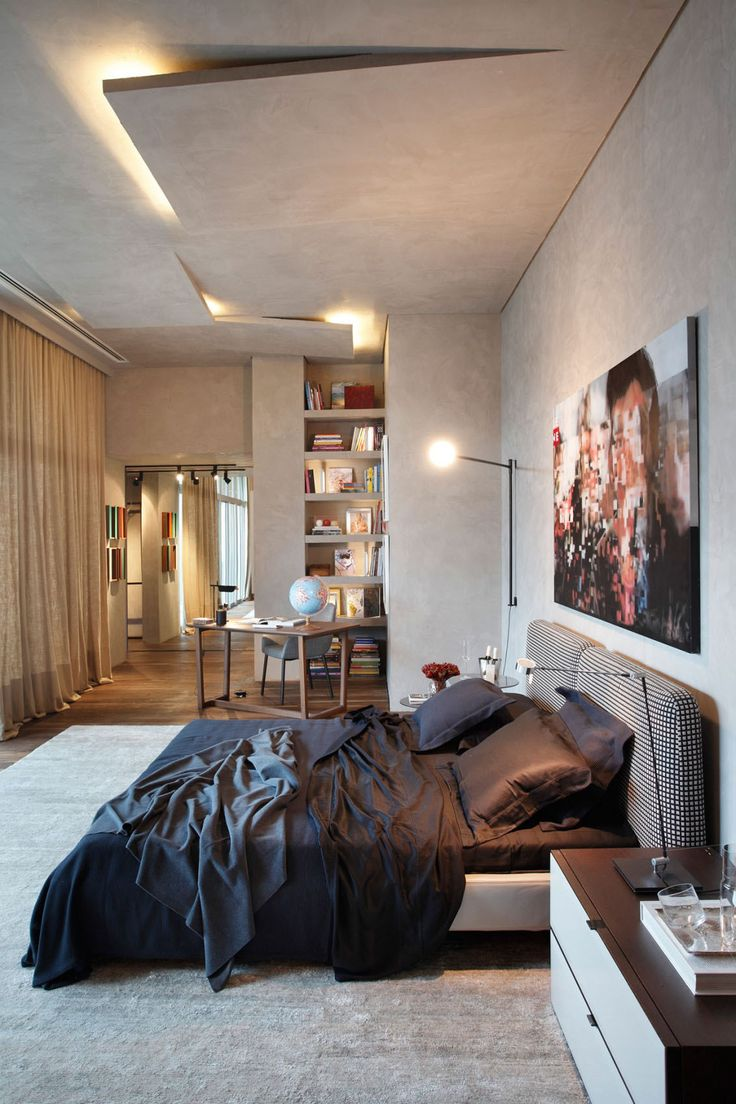 Captivant Modern Bedroom Ceiling Thewowdecor