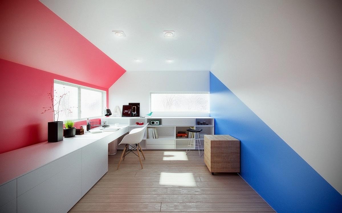 Modern Home Office thewowdecor (15)