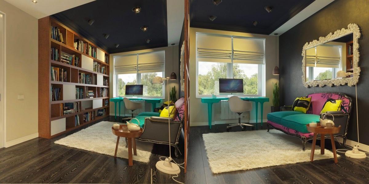 Modern Home Office thewowdecor (8)