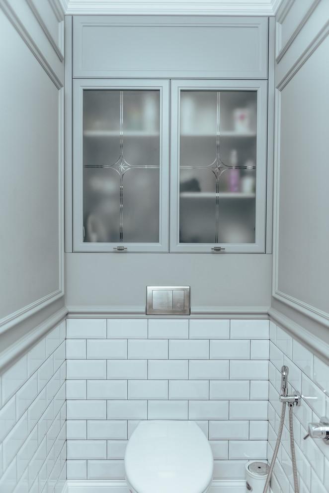 transitional-powder-room-decor