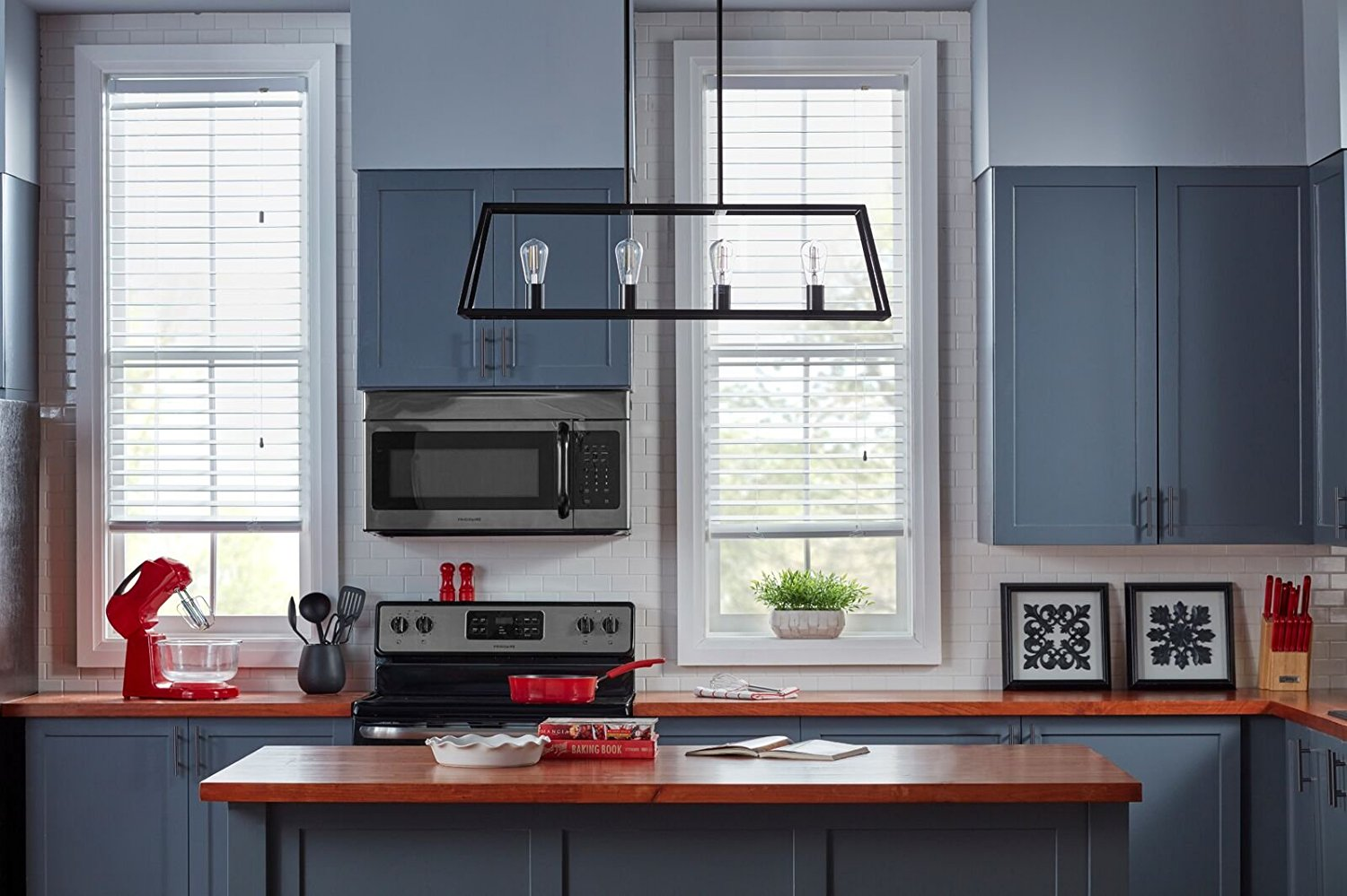 4 Light Kitchen Island Pendant Thewowdecor