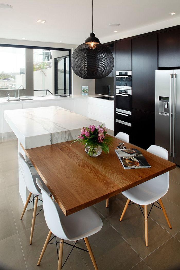 Black Kitchen Cabinets For A Posh And sleek Finish Thewowdecor