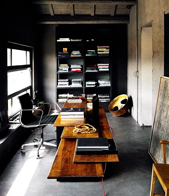 Gorgeous Rustic Style Home Office Design Thewowdecor