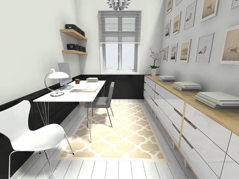 Scandinavian Style Home Office Design Thewowdecor
