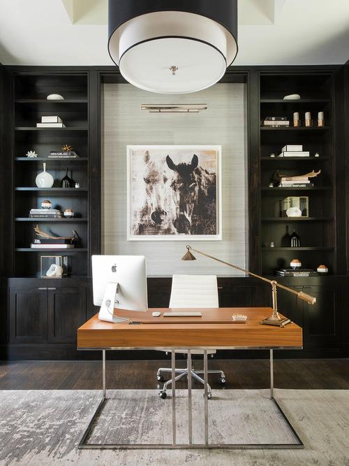 Stunning Contemporary Home Office Design Thewowdecor