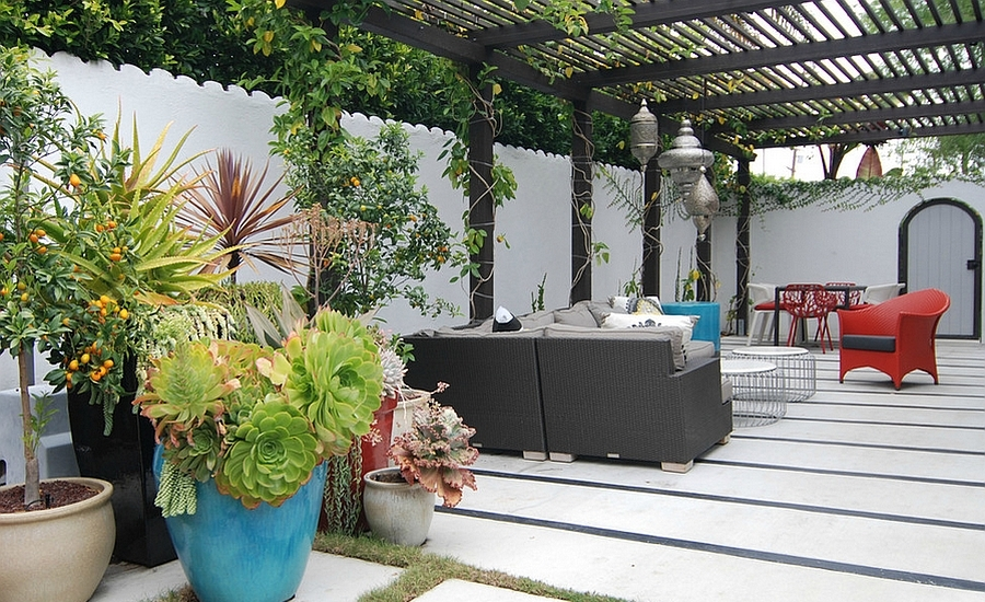 Etonnant Outdoor Courtyard Design Ideas (22)