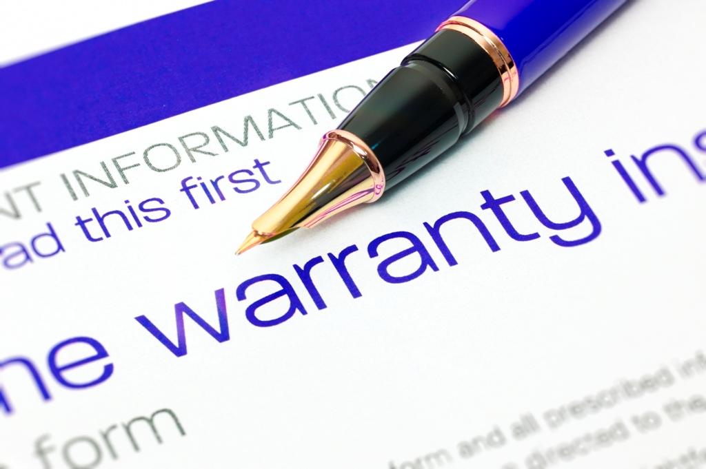 Insist on an Extensive Warranty