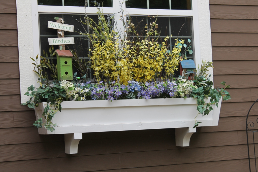 Build window boxes