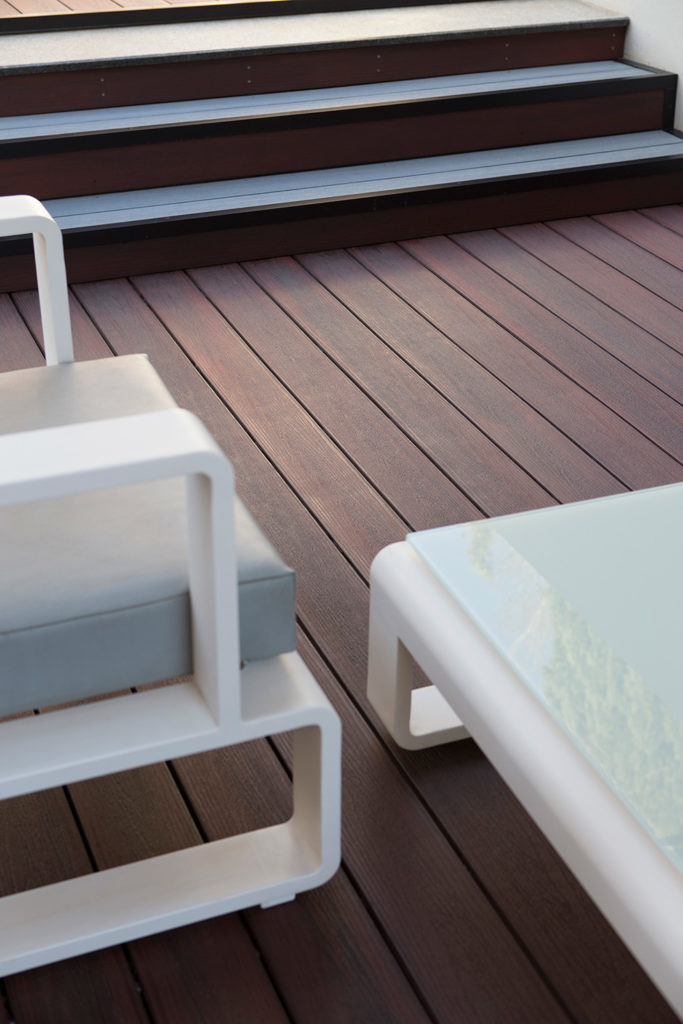 Composite decking stays as good as new