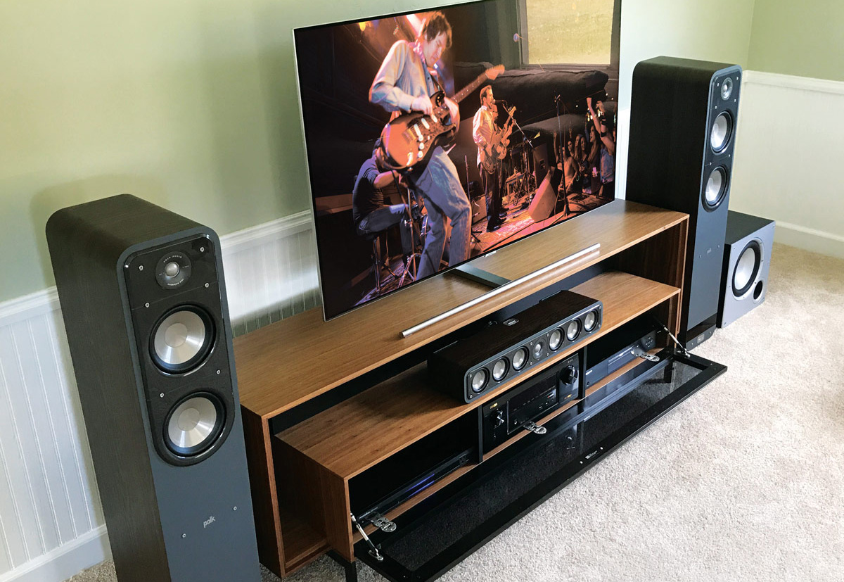 Invest in a good speaker system