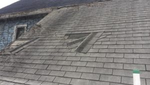Look for Loose Shingles