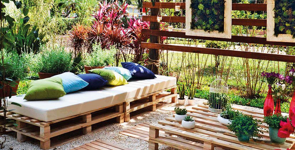 Repurposed pallets