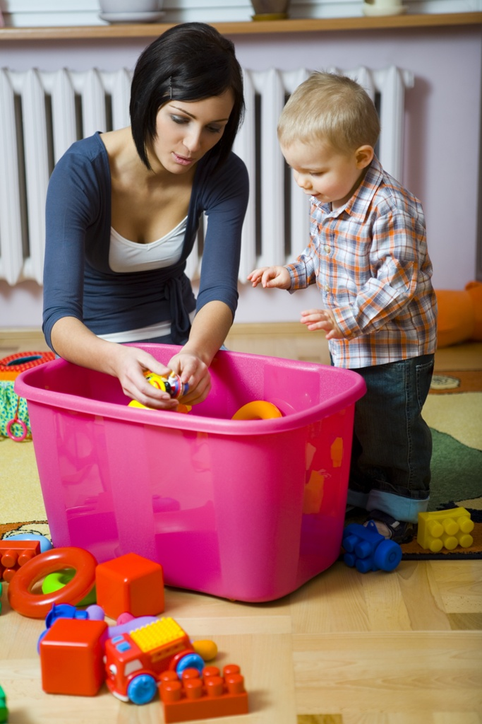 Clean Your Kids' Toys