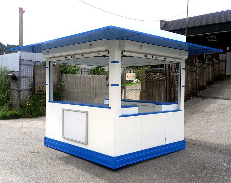 How to set up an outdoor Kiosk