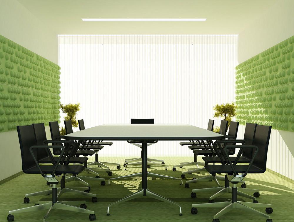 Go Green Office Table Design