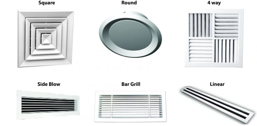 How do ducted air conditioners work