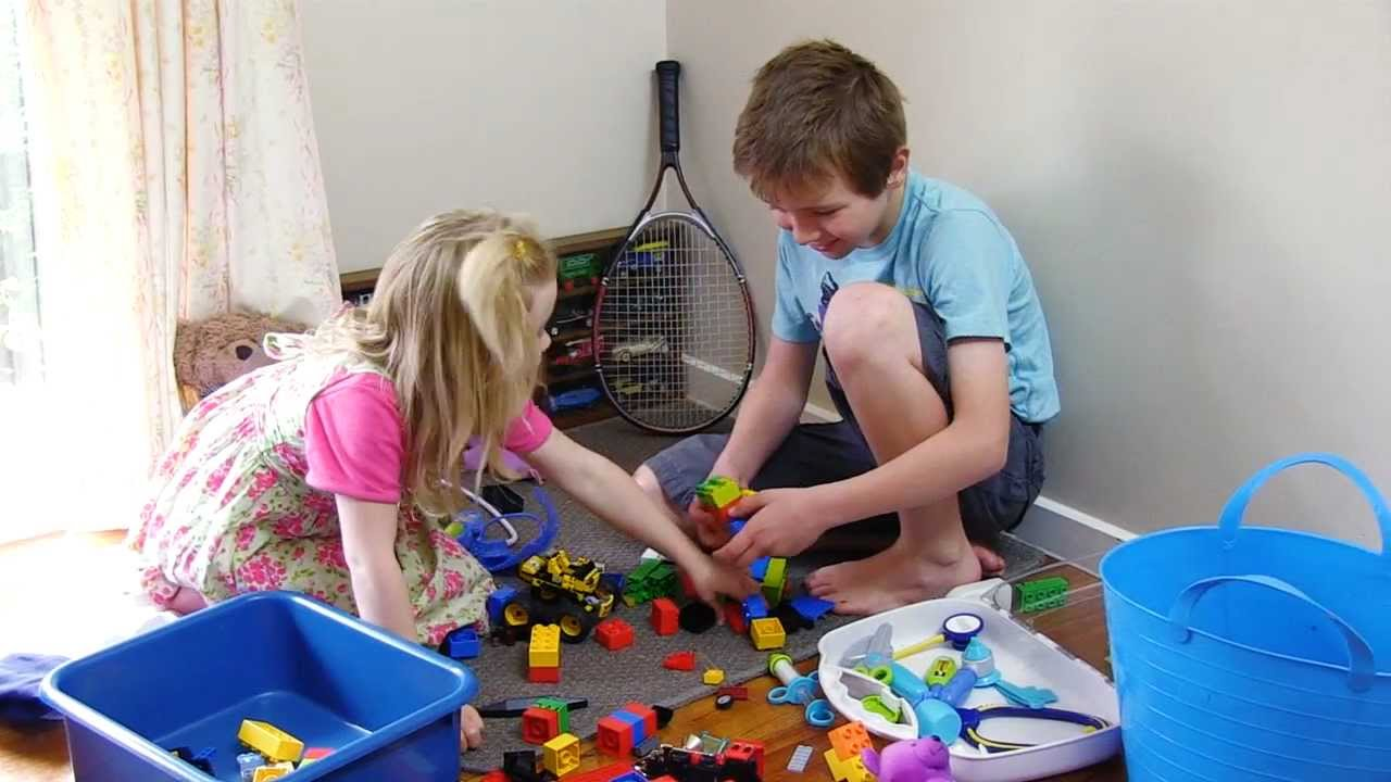 Teach Children to Store Away Toys