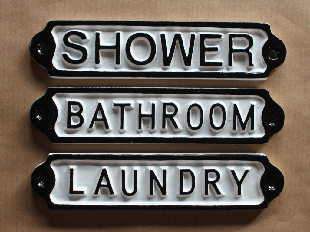 Antique Style Signs