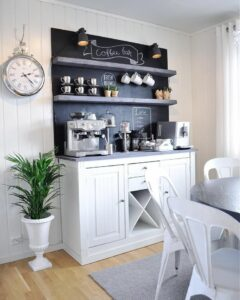 How to Create a Cozy Coffee Station