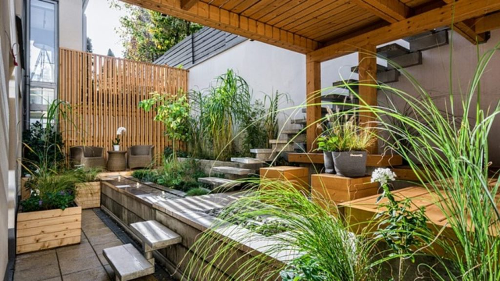 Furnish an Outdoor Patio