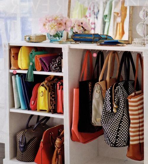 Keep The Handbags Nearby