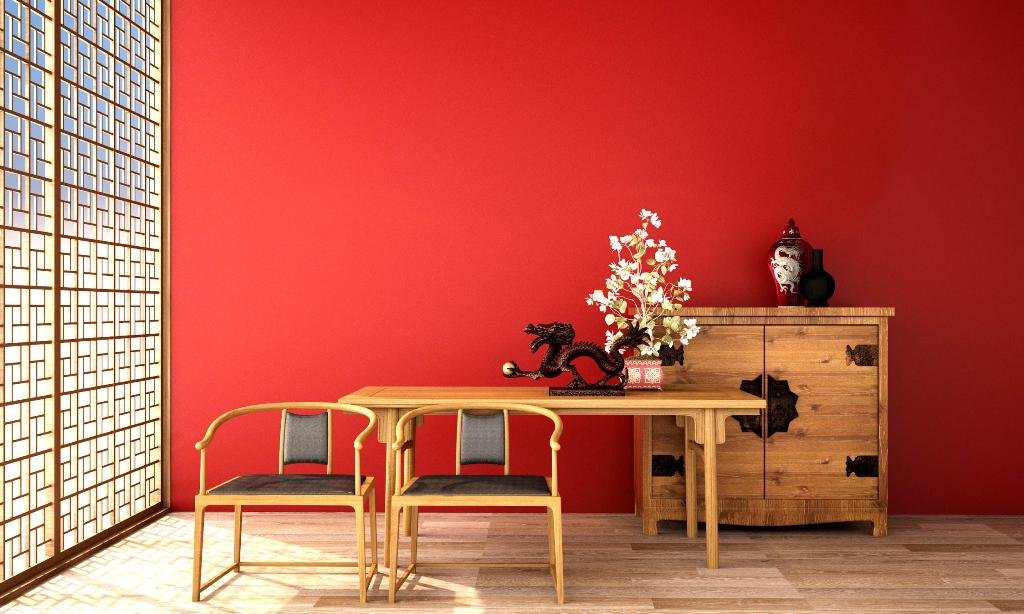 Use background colours that will enhance the plywood beauty