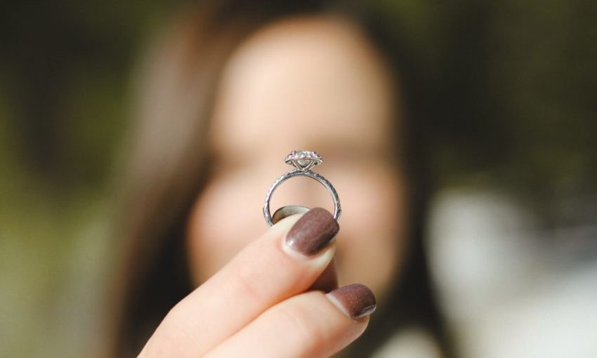 Use One of Your Partner's Rings to See What Size They Are